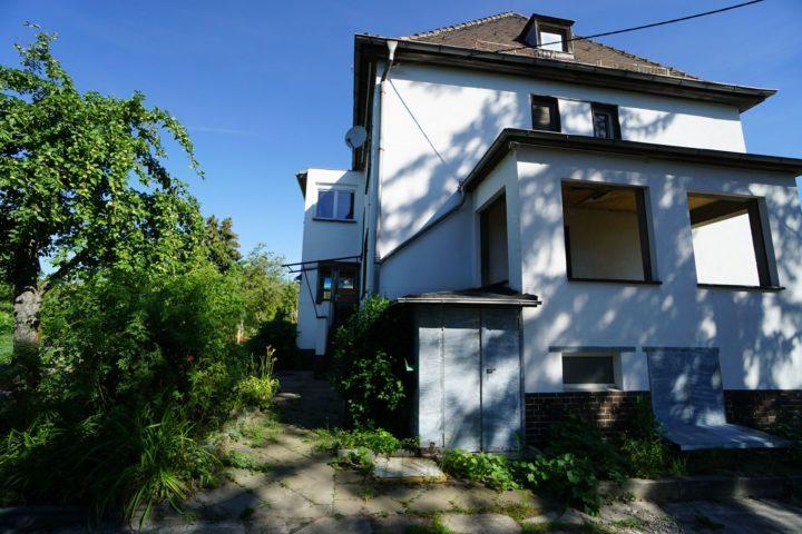 Villa mit überdachter Terrasse nahe Monarchenhügel Leipzig