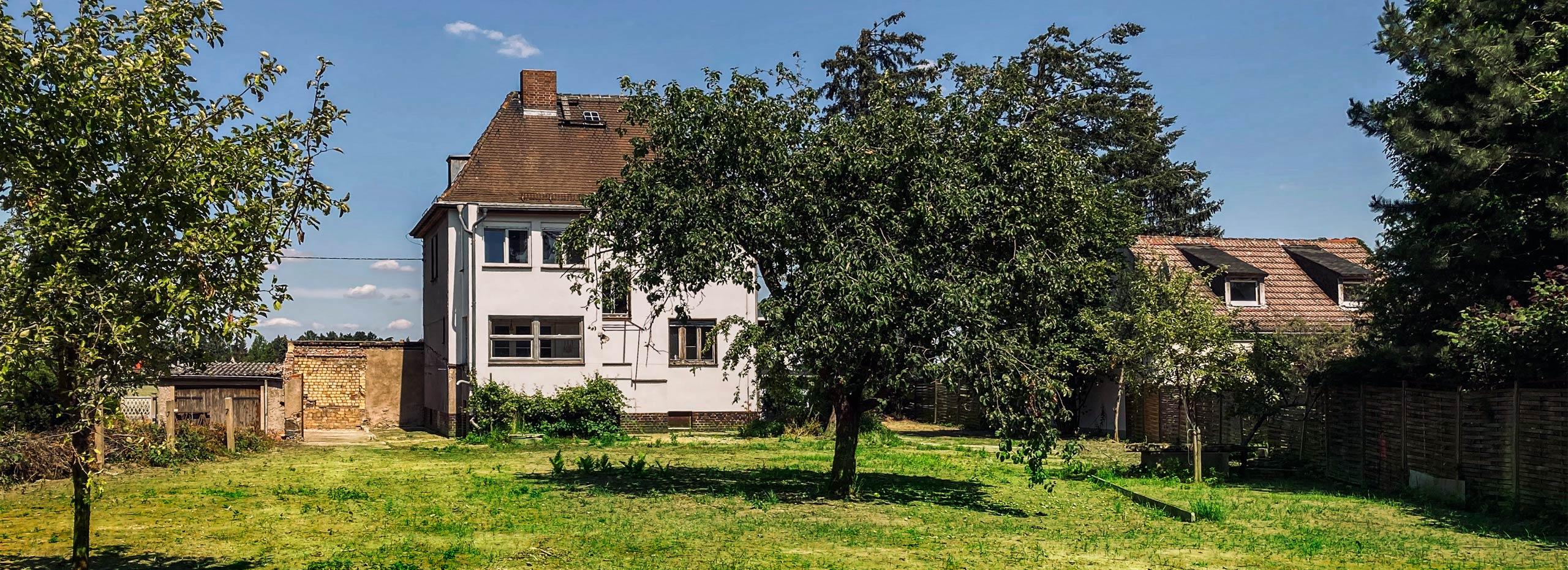 Villa am Leipziger Monarchenhügel mit Garten