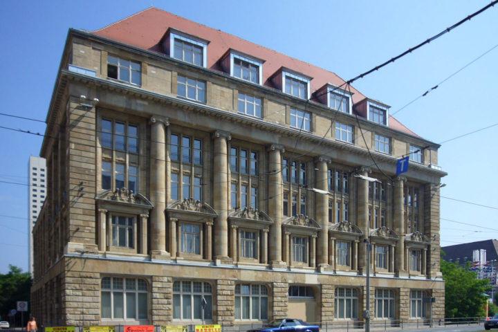 Außenfassade Bank Palais am Tröndlingring
