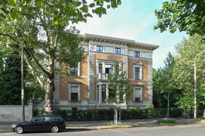 Villa Schreiber Außenansicht
