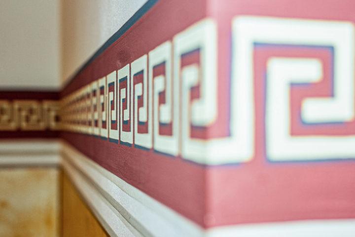 Details Innenbereich in der Villa Schreiber