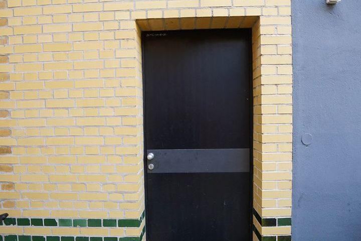 Tür Außenbereich Kutscherhaus Alte Straße Leipzig