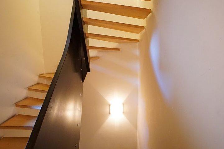 Treppe im Kutscherhaus Alte Straße Leipzig
