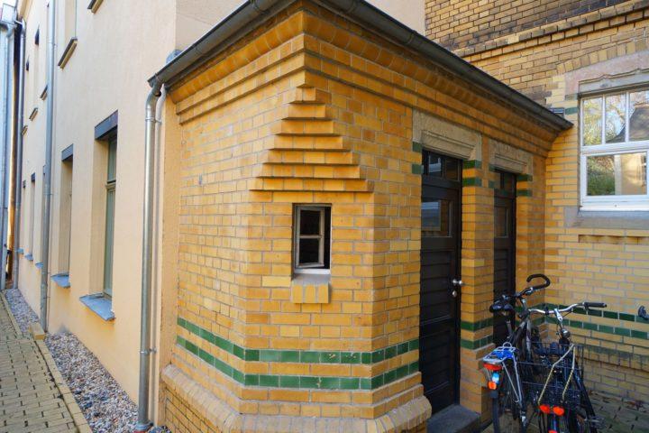 Außenansicht Kutscherhaus in der Alten Straße Leipzig