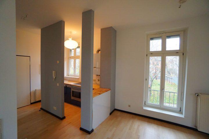 Offene Küche Innenansicht Kutscherhaus Alte Straße
