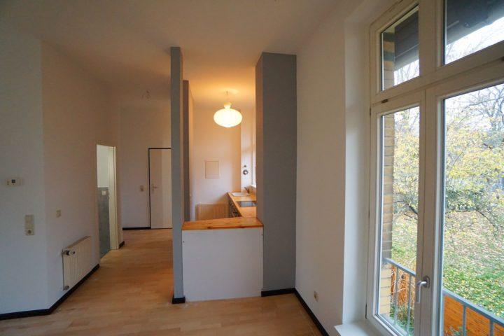 Innenansicht offene Küche Kutscherhaus Alte Straße