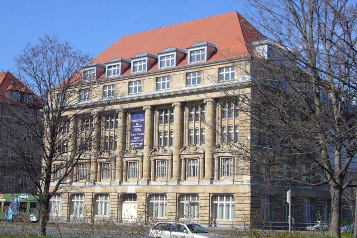 Außenansicht vom Bank Palais am Tröndlingring 3