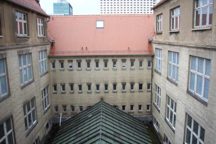 Innenhof Ansicht Bank Palais
