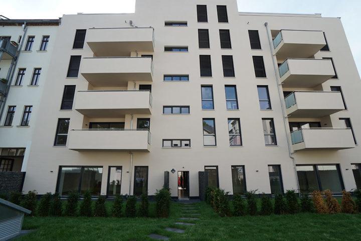 Fregestraße Vorderansicht Haus