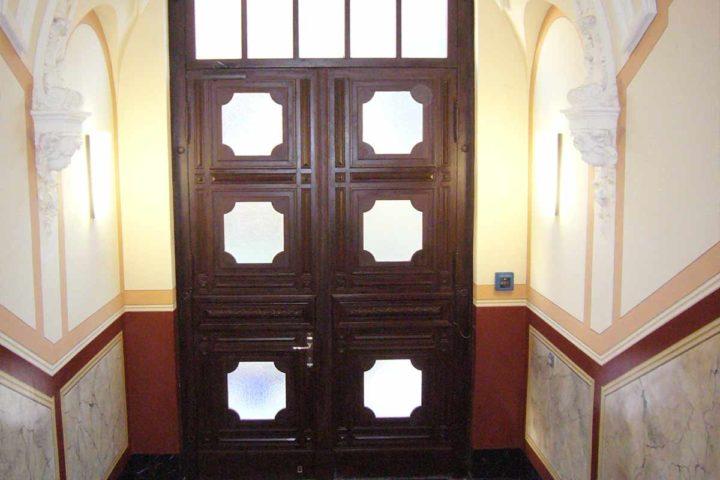 Eingangstür Villa Schreiber
