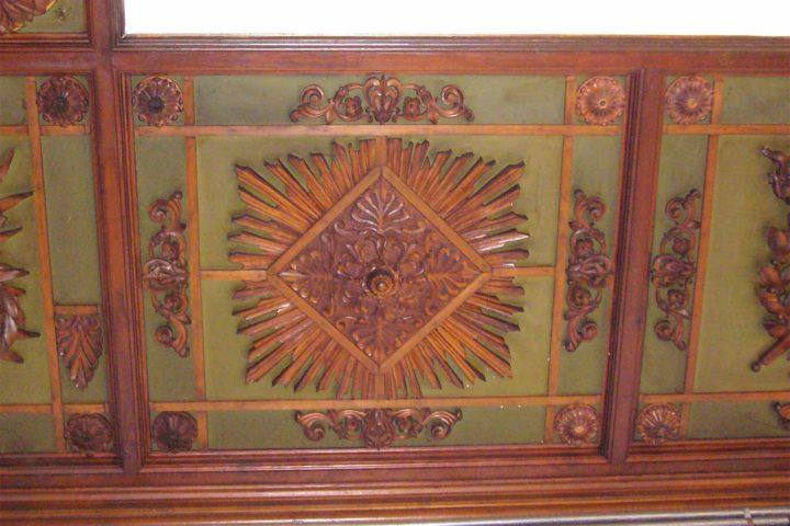 Details im Hausflur Villa Schreiber