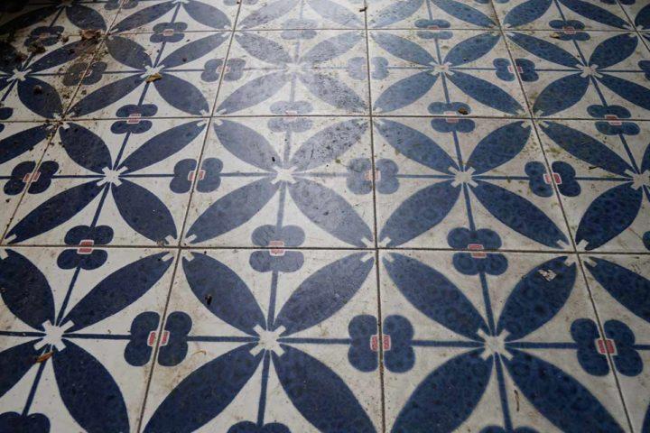 Details Fußboden Villa Soronzo