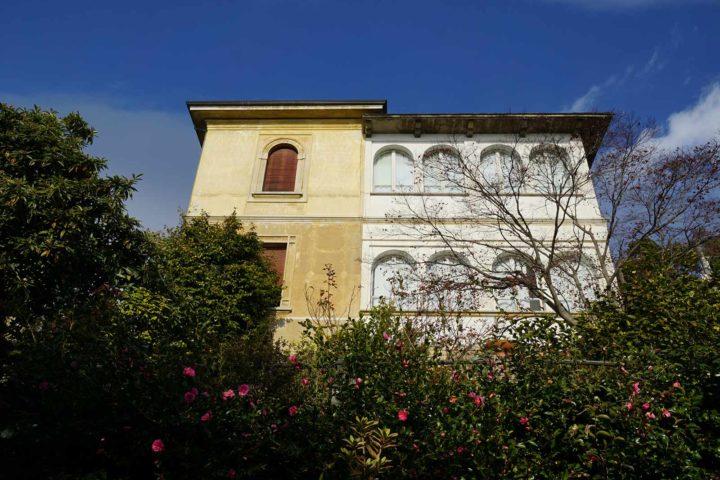 Außenansicht Villa Soronzo Italien