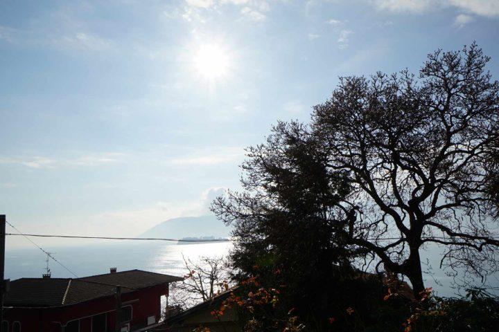 Seeblick von der Villa Soronzo